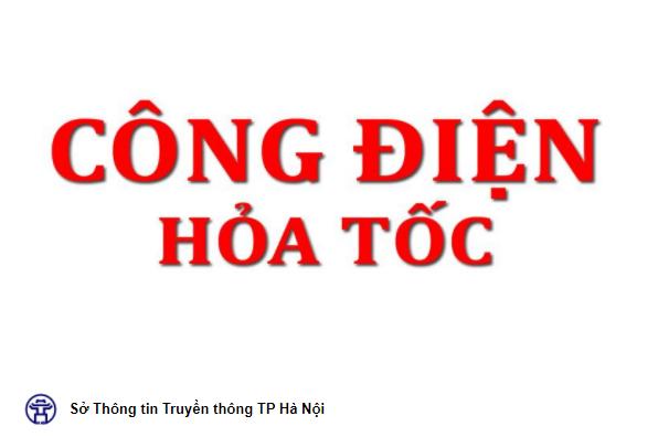Công điện của Chủ tịch UBND thành phố Hà Nội về tăng cường triển khai các biện pháp phòng, chống dịch COVID-19